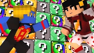Minecraft Mods: ESCADONA - Lucky Block de Vários Tipos ‹ AM3NlC ›