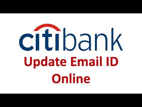 Citi Bank Email ID Online Update