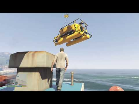 Travor Stole Submarine | Grand Theft Auto V Premium Edition Gameplay Part 13 | SPEEDY GAMEPLAY |