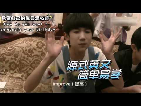 TFBOYS Roy Wang discusses his hopes & wishes IN ENGLISH!!!