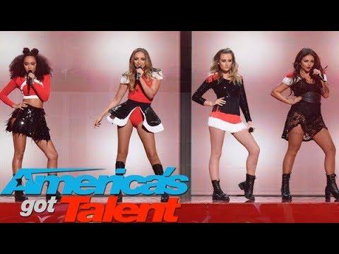 Little Mix - Black Magic (Live on Americas Got Talent) HD