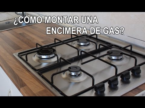 C mo montar una placa de gas youtube for Como montar muebles de cocina