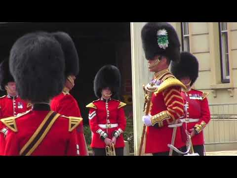 Changing the Guard Band of the Scots Guards