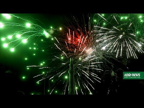 Fireworks to celebrate 70th Independence Day in Pakistan