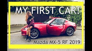 I GOT A NEW CAR! | MAZDA MX-5 RF 2019 | CRAZY LONDON DRIVERS