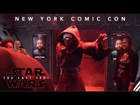 Download Youtube: Star Wars: The Last Jedi New York Comic Con Experience
