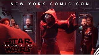 star wars the last jedi new york comic con experience