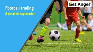 Betfair trading - Detailed explanation of a football trade