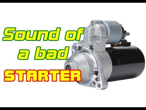 ⭐-how-does-a-starter-going-bad-sound?---sounds-of-a-bad-starter