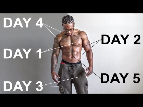 MY WORKOUT SPLIT FOR MAXIMUM MUSCLE GAINS