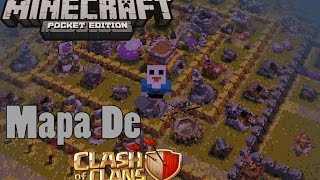 Clash Of Clans No Minecraft - Minecraft Pocket Edition Seeds #11