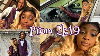 2k19 Prom vlog + GRWM