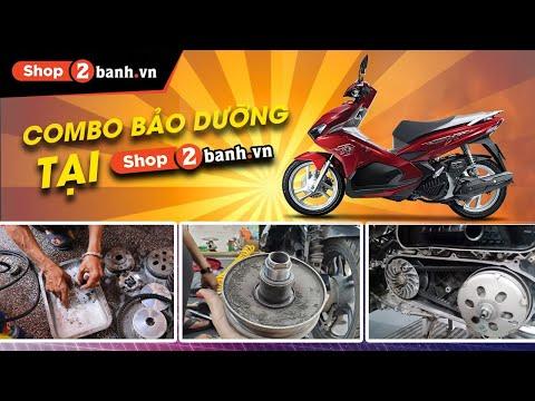 Combo bảo dưỡng 10 bước cho xe Air Blade tại Shop2banh