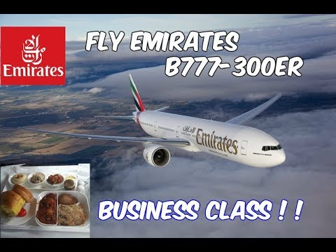 Fly Emirates B777-300ER Business Class Dubai To Colombo (TRI