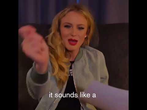 Zara Larsson trying to pronounce