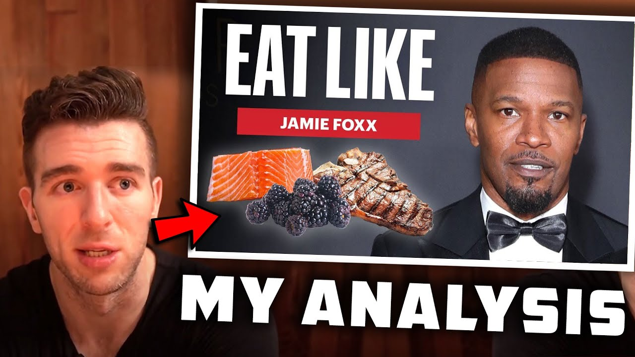 32 RAW Eggs For Breakfast!? Reacting To What Jamie Foxx Eats To Stay PEAKED At 53 Years Old