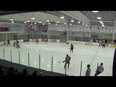 Nicholas Nabuurs vs Alliston Hornets (PJHL)