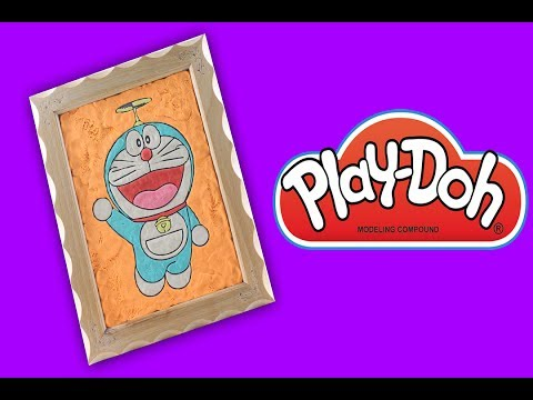 Doraemon Coloring Page Book Colouring Game Create Play Doh