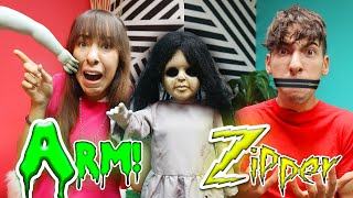 Our Creepy Doll Pranks us in Alphabetical Order! (The Dollmaker Series)