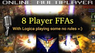 8 Player FFAs with Logica :D (No Rules...?)  C&C Generals Zero Hour