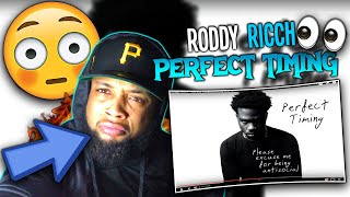 CHILL OUT RODDY! Roddy Ricch - Perfect Timing [Official Audio] | REACTION!