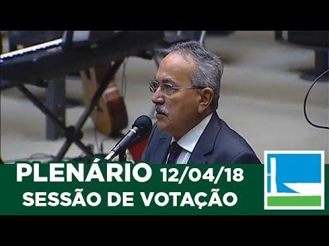 PLENÁRIO - Sessão Deliberativa - 12/04/2018 - 09:00