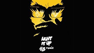 Major Lazer - Light It Up (feat. Nyla &amp Fuse ODG) (4B Remix) (Official Audio)
