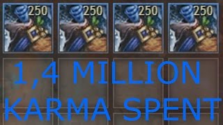 Loot From 1,000 Festive Bag of Materials | Detailed Results | Guild Wars 2