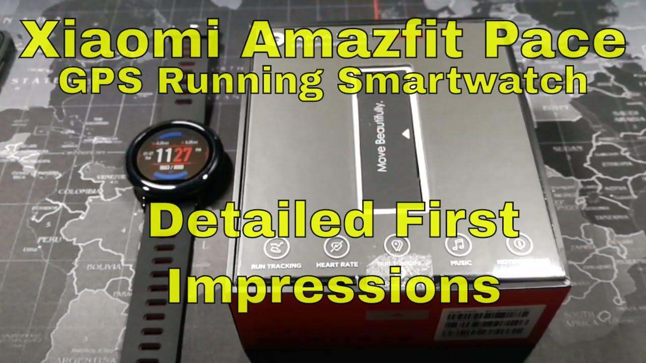 Xiaomi Amazfit Pace GPS Running Smartwatch