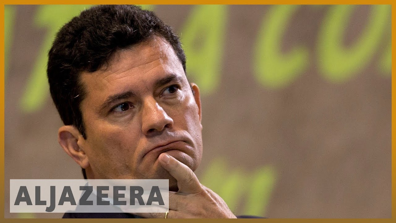 AlJazeera English:Calls for Brazil justice minister to quit after leaked messages