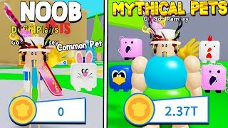FULL TEAM OF THE BEST MYTHICAL PETS IN OM NOM SIMULATOR! Roblox *RIP 6000 ROBUX*