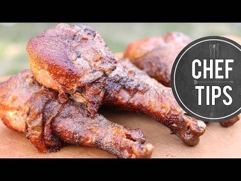 Smoked Turkey Legs Recipe – Disneyland Smoked Turkey Legs
