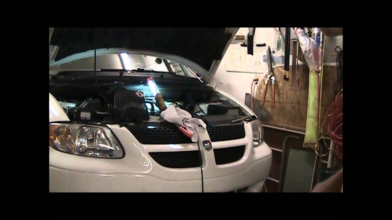 Dodge Caravan Heater RearHose Replacement  YouTube