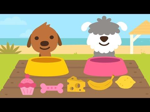 Sago Mini Babies Sago Mini Puppy Preschool 123 Sago Mini Pet Cafe 😍 Fun & Educational Game for Kids