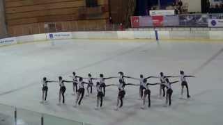 Эдельвейс Тольятти 14.12.2013 Синхронное фигурное катание