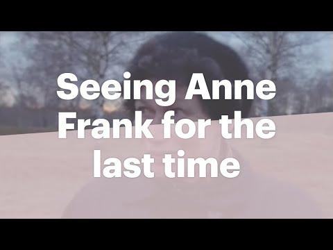 Hanneli Goslar speaks of meeting Anne Frank in Bergen-Belsen concentration camp