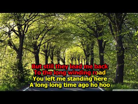 The Long And Winding Road Karaoke - (High Quality) (Original Version!) The Beatles