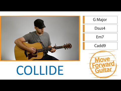 Easy Guitar Songs for Beginners - Collide - Howie Day