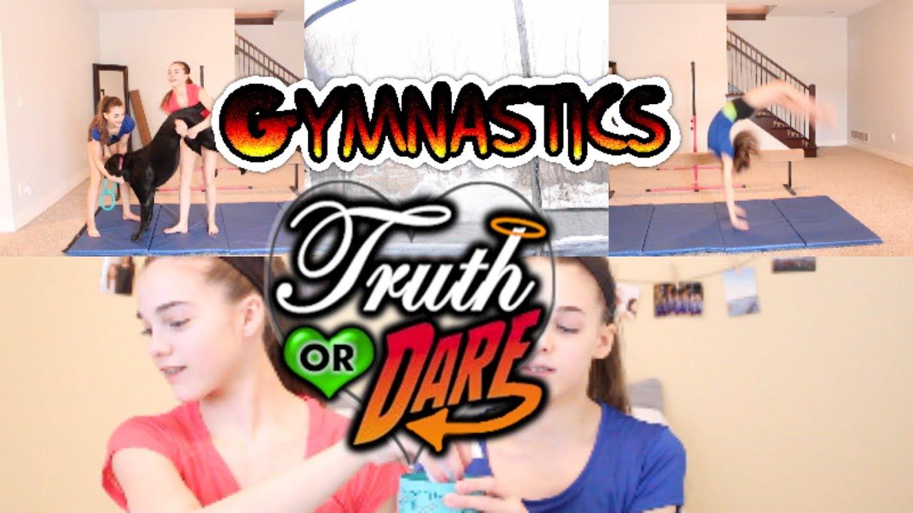 Gymnastics Truth or Dare! - YouTube