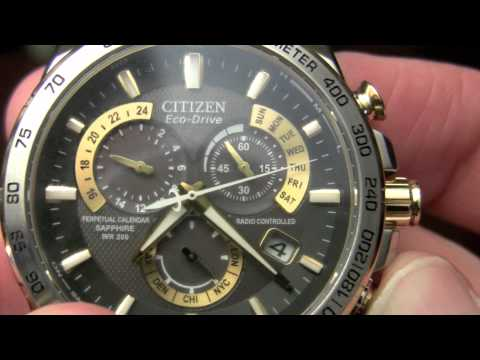 Citizen Eco-Drive Review (Perpetual Chrono AT 52E)