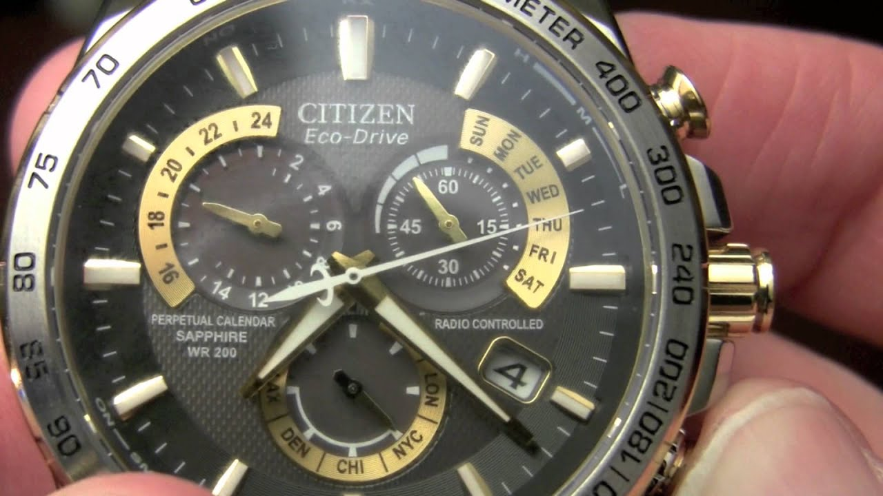citizen eco drive review perpetual chrono at 52e youtube rh youtube com Blue Angel Citizen Eco-Drive Instruction Manual Blue Angel Citizen Eco-Drive Instruction Manual