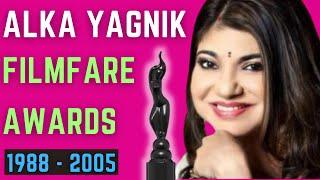 Alka Yagnik Filmfare Awards - Filmfare for Best Female Playback Singer