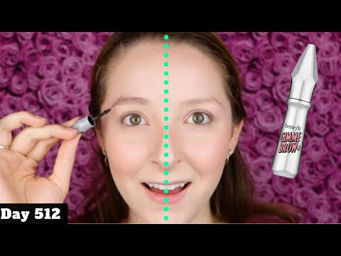 benefit-gimme-brow-volumizing-eyebrow-gel-review-|-day-512-of-trying-new-makeup