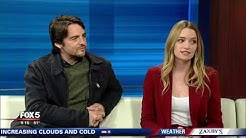 Brianne Howey and Vincent Piazza from 'The Passage' on Good Day Atlanta