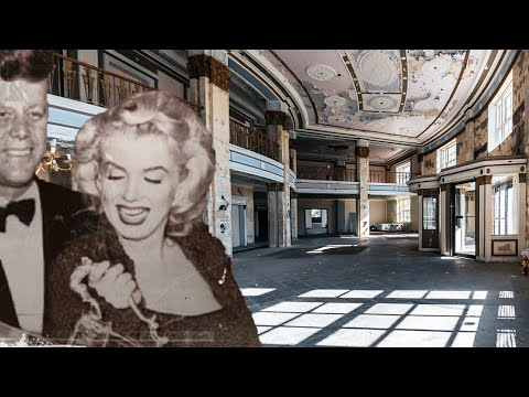 Abandoned Marilyn Monroe $42,000,000 Millionaires Luxury Hotel For The Rich & Famous