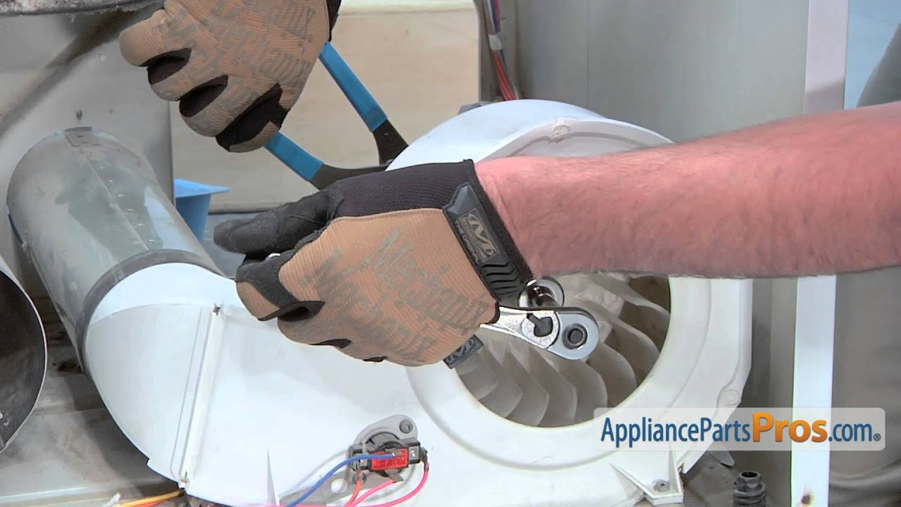 Dryer Motor Part 131560100 How To Replace Youtube
