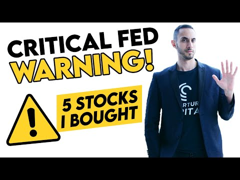 What Was The Fed's Warnings About The Stock Market? (Plus 5 Stocks I Bought Today)