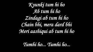 Download lagu Tum Hi Ho Lyrics with full song Aashiqui 2 movie song MP3