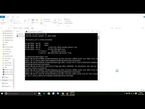 Ethereum setup Windows 10