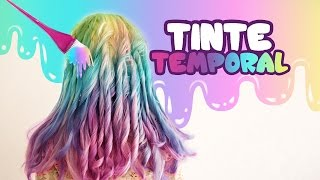 DO TEMPORARY UNICORN DYE | MUSAS LESSLIE LOS POLINESIOS